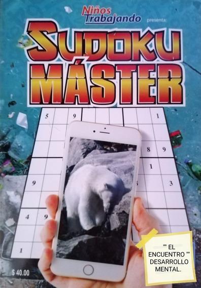 Sudoku/ Paquete 2/ Master Y Extra/ 8 Diferentes.
