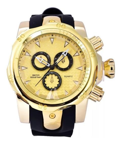 Reloj Lujo Dial Grande 3d Gaucho Moda Urbana Exótico Mayoreo