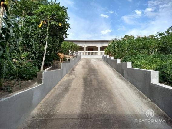 Chácara Com 3 Dormitórios À Venda, 1.250 M² Por R$ 800.000 - Ch0114