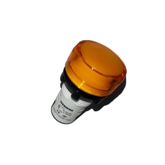 Sinaleiro Monobloco Led 24v Amarelo 3sb6213-6aa20-1aa0