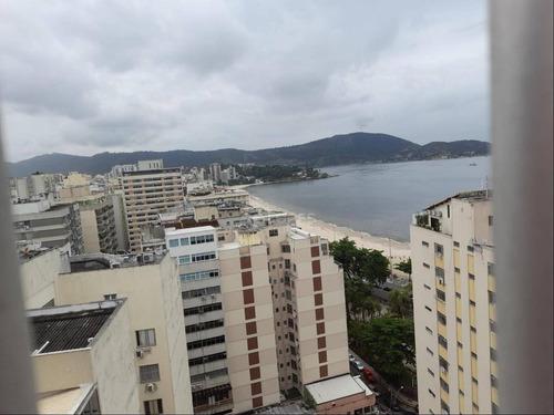 Imagem 1 de 17 de Vista Mar. Cobertura Com 4 Quartos Por R$ 2.500.000 - Icaraí /rj - Co3130