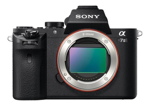 Sony Alpha 7 II mirrorless cor preto
