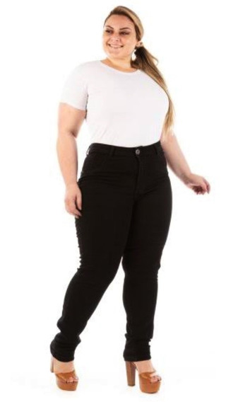 Calça Jeans Feminina Hot Pants Cintura Alta Cos Alto Lycra