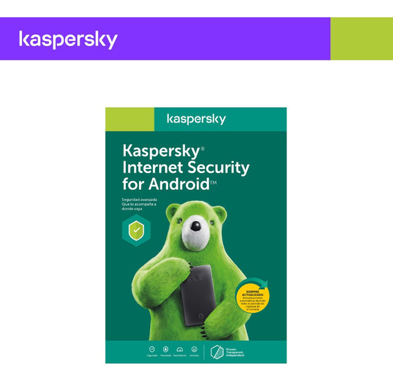 Licencia Kaspersky Internet Security Cel/tablet 1 Movil 1año