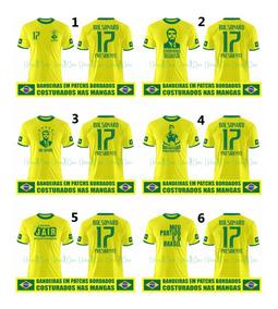 Kit Com 3 Camisas Seleção Brasileira Bolsonaro