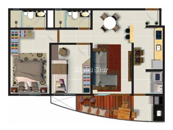 Apartamento A Partir De R$319.000,00 - Venda - Residencial Rubi - Itapevi/sp - Ap1506