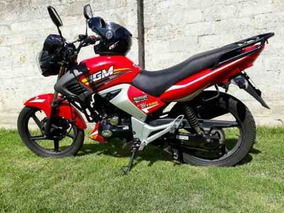 Moto Igm 150 Cc Roja 2017 Quito