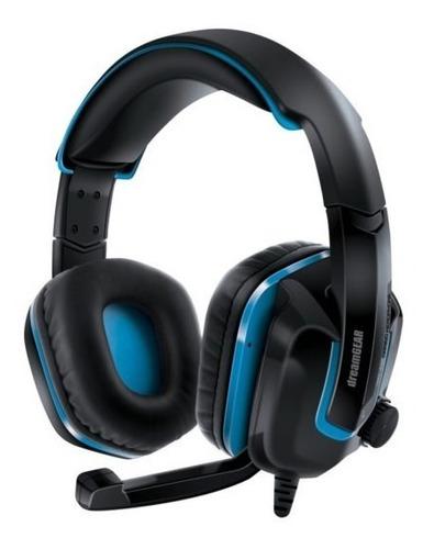 Audifonos Gamer Microfono Para Ps4 Negro Azul