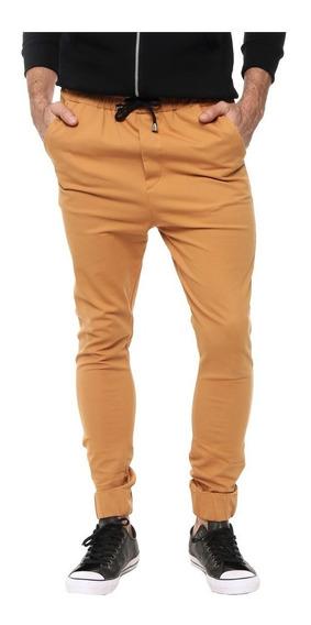 Pantalón De Gabardina Jogger Hombre Varios Colores