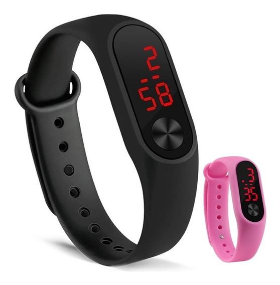 Relógio Digital Para Esporte Barato Unissex Completo Top