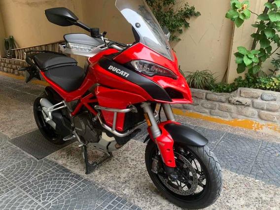 Ducati Multistrada 1200 S Con Valijones Defensas Permuto