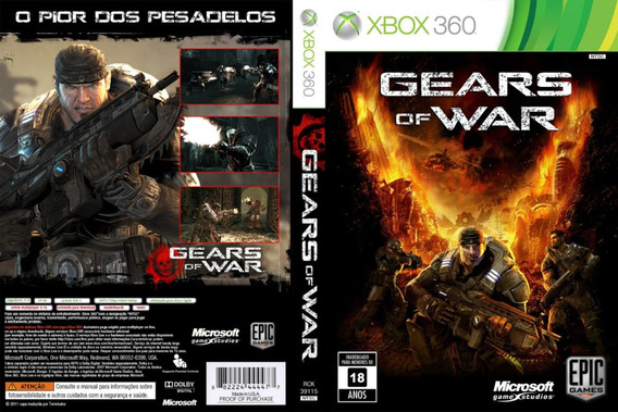 Gears Of War Coleçao Xbox 360