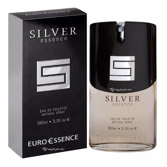 Silver Euroessence - Perfume Masculino 100ml