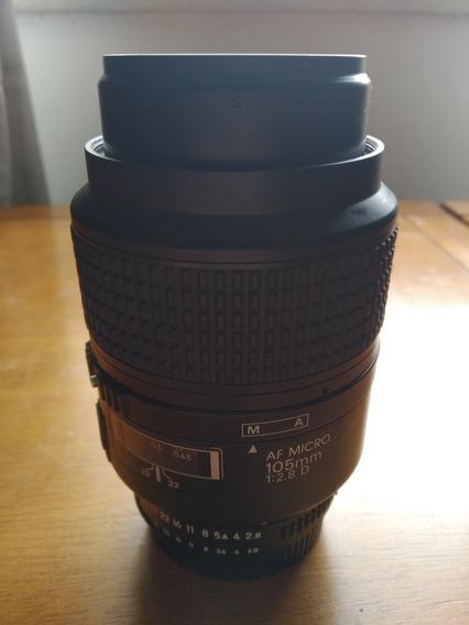 Lente Nikon Af Micro 105 Mm 2.8d