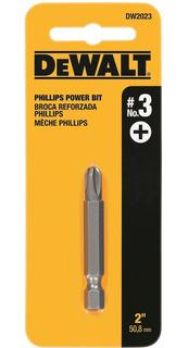 Bits Phillips Encaixe De 2 N°3 Dewalt - Dw2023