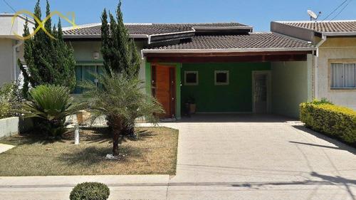 Casa Com 3 Dormitórios À Venda, 197 M²- Condomínio Campos Do Conde - Paulínia/sp - Ca1330