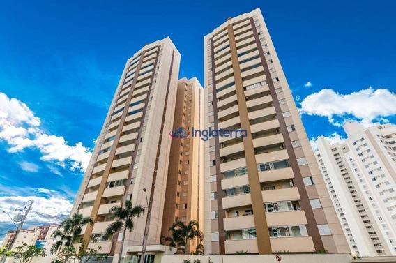 Apartamento Com 3 Dormitórios Para Alugar, 76 M² Por R$ 1.300,00/mês - Gleba Palhano - Londrina/pr - Ap0694