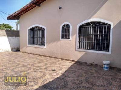 Entrada R$ 30.000,00 + Saldo Super Facilitado, Use Seu Fgts, Casa Com 2 Dormitórios À Venda Por R$ 150.000 - Flórida Mirim - Mongaguá/sp - Ca3483