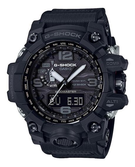 Relógio Casio G Shock Gwg 1000-1a1dr Full Black Mudmaster