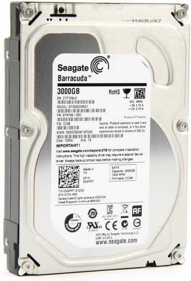 Hd Interno Seagate Desktop Barracuda 3tb (st3000dm001)