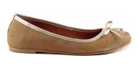 Chatita Mujer Zapato Cuero Briganti Base De Goma - Mccha2966