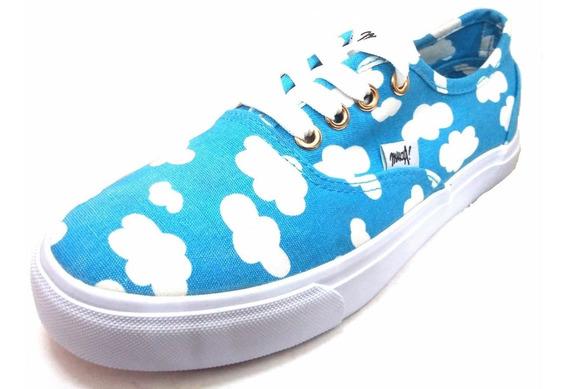 Zapatillas Muaa Con Nubes