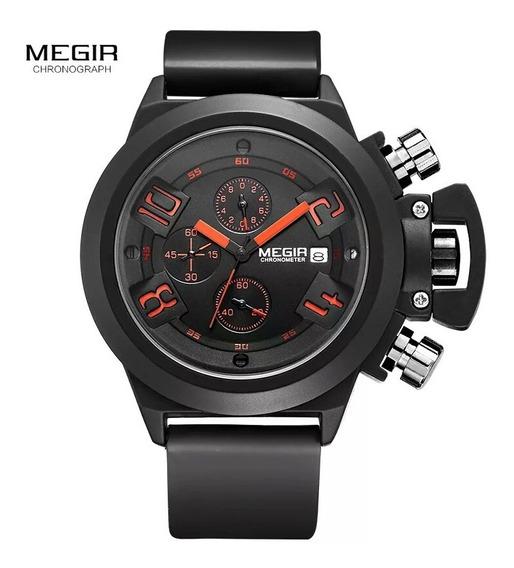 Relógio Masc Megir 2002 Quartzo Promoção Oferta Imperdível