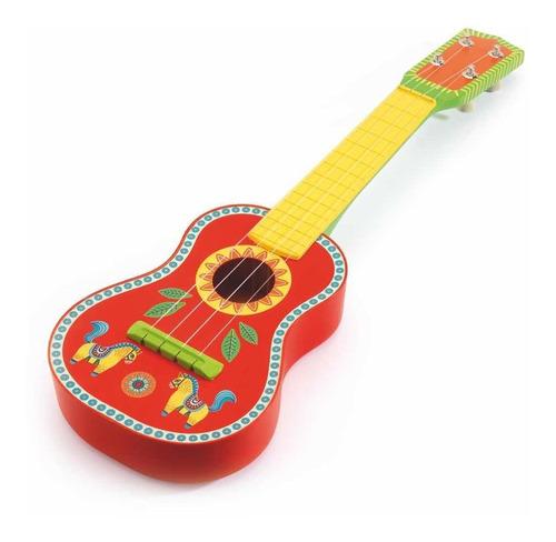 Ukelele Djeco Infantil Instrumento Musical Cadaques Kids