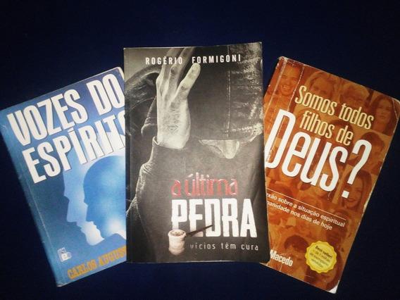 Kit 3 Livros - A Última Pedra, Todos Filhos De Deus?, Vozes