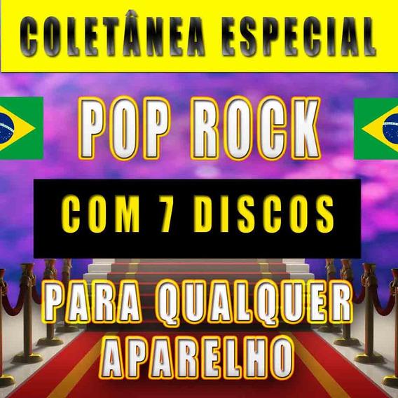 Top 7 Dvd Karaokê Rock Pop Nacional Volumes 1 À 7 (7 Discos)