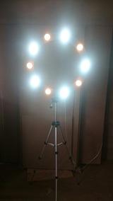 Ring Light + 10 Lampada + Tripe