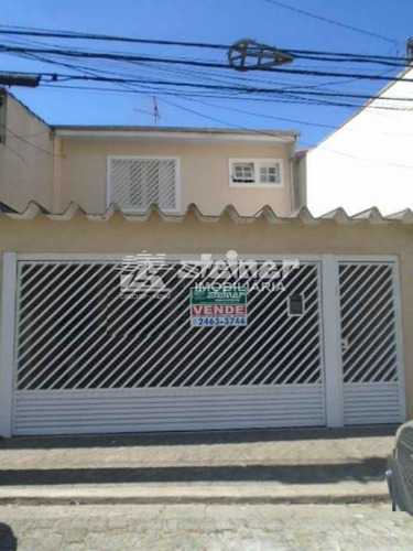 Venda Sobrado 3 Dormitórios Vila Camargos Guarulhos R$ 560.000,00 - 34740v