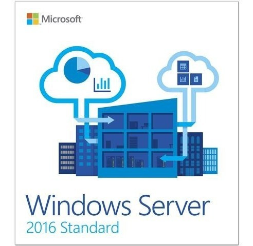 Windows Server 2016 Standard + 10 Cals