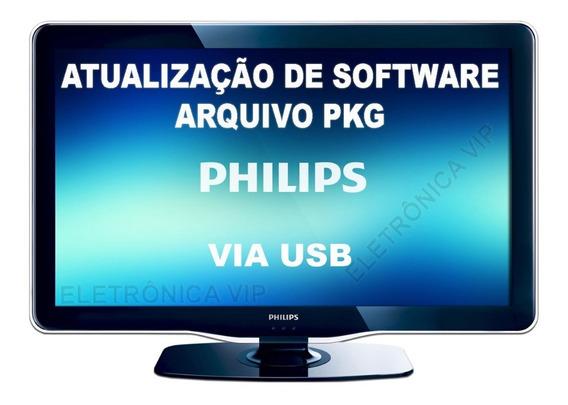 Atualização De Software Pkg Tv Philips 42pfl3707d/78