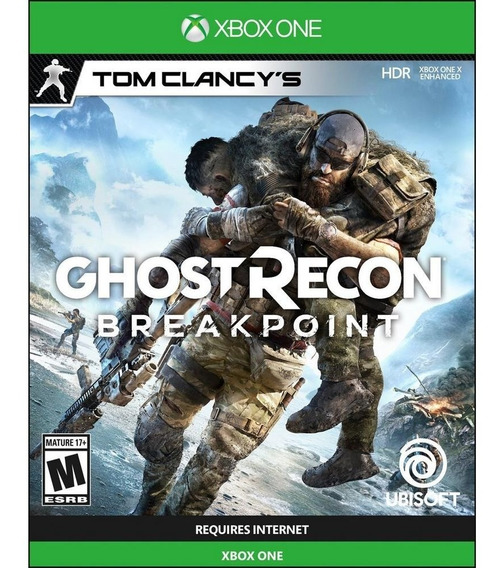 Ghost Recon Breakpoint Xbox One Mídia Física Lacrado Pt Br