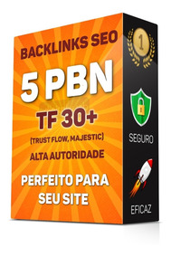 Backlinks Pbn Exclusivos Seo Tf30+ Alta Autoridade Dofollow