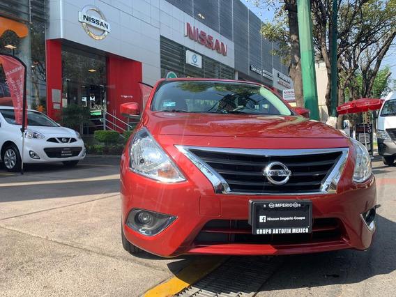 Nissan Versa Advance T/a