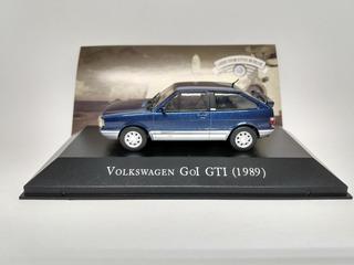 Gol Gti 1989 - Coleção Carros Inesquecíveis Do Br