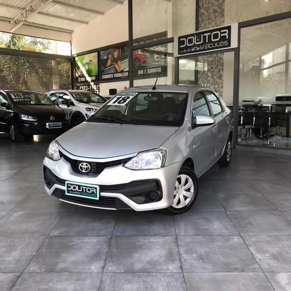 Toyota Etios 1.5 Xs Sedan Flex Automático 2018 / Etios 18
