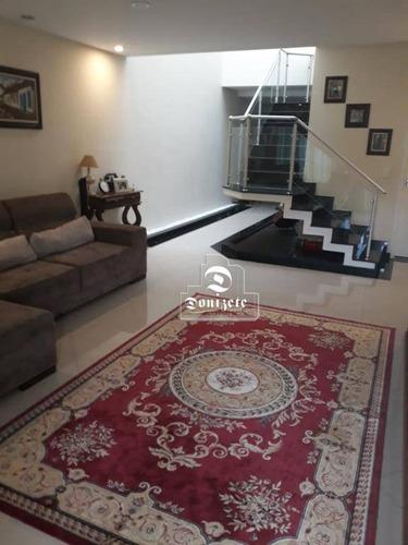 Imagem 1 de 25 de Sobrado Com 3 Dormitórios À Venda, 300 M² Por R$ 1.050.000,00 - Vila Curuçá - Santo André/sp - So2365