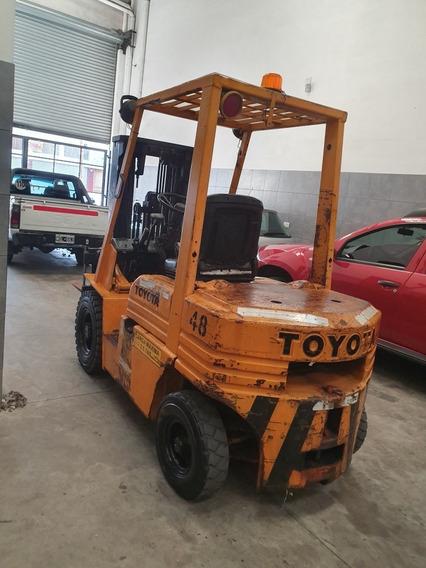 Toyota 2.5kg Diesel Automatico Con Dezplazador Containera