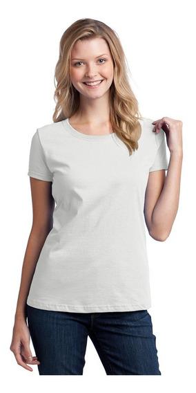 Camiseta Feminina Babylook Gola Redonda Básica Blusinha