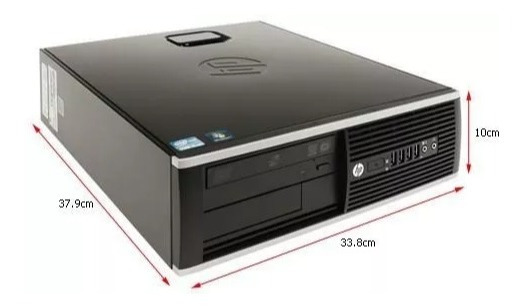 Computador Hp Elite Intel Core I5 8gb Ssd 240gb Wifi