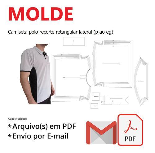 Camiseta Polo Recorte Retangular Lateral (p Ao Eg)
