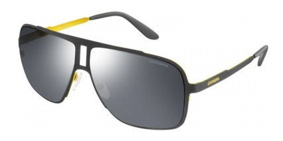Lentes Gafas Carrera 121s Espejados Adornos Dorados 62mm
