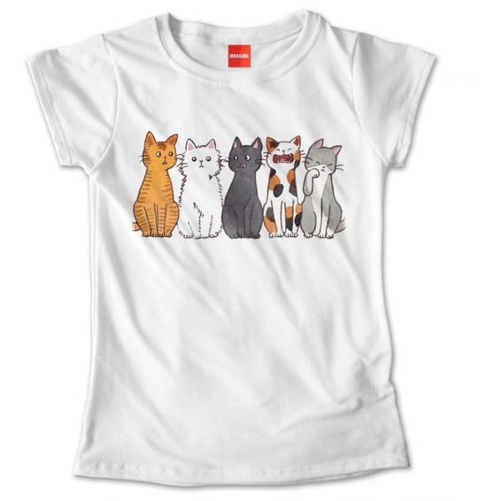 Blusa Dama Gatos Gatitos Mascota Animales Playera #741