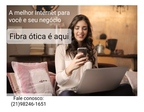 Imagem 1 de 1 de Internet Banda Larga De Qualidade