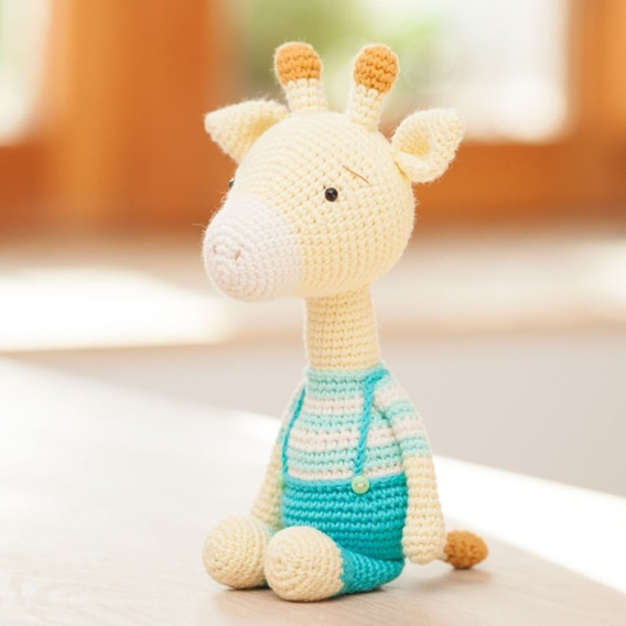 Jirafa Patrón de Crochet - Patrón de Ganchillo Amigurumi ...   568x568