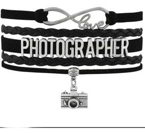 Pulseira Feminina Masculina Photografia Camera