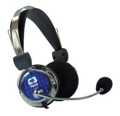 Fone De Ouvido C3 Tech Headset Gamer Pterodax Mi-2322rc